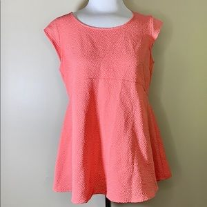 Motherhood Maternity | Coral Sleeveless Top M